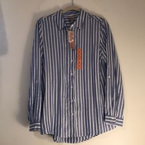 Tops - Pinstriped button down